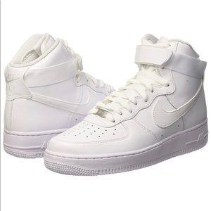 Nike Air Force 1 High Top White in box